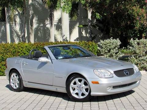 2002 Mercedes-Benz SLK for sale at Auto Quest USA INC in Fort Myers Beach FL