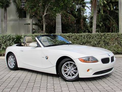 2004 BMW Z4 for sale at Auto Quest USA INC in Fort Myers Beach FL