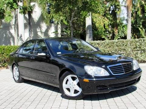 2004 Mercedes-Benz S-Class for sale at Auto Quest USA INC in Fort Myers Beach FL