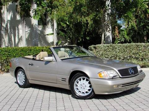 1998 Mercedes-Benz SL-Class for sale at Auto Quest USA INC in Fort Myers Beach FL