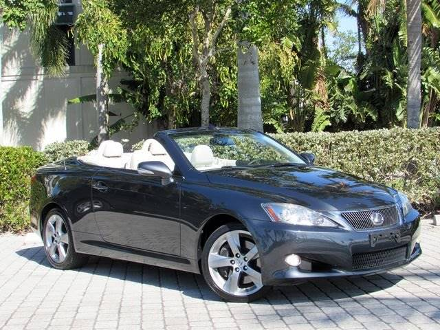 2010 Lexus IS 350C For Sale At Auto Quest USA INC In Fort Myers Beach FL