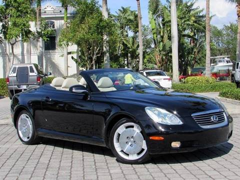 2004 Lexus SC 430 for sale at Auto Quest USA INC in Fort Myers Beach FL