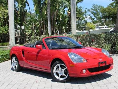 2003 Toyota MR2 Spyder for sale at Auto Quest USA INC in Fort Myers Beach FL