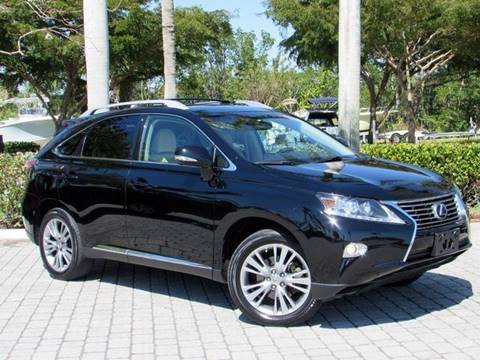 2013 Lexus RX 350 for sale at Auto Quest USA INC in Fort Myers Beach FL