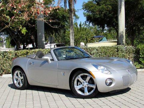 2006 Pontiac Solstice for sale at Auto Quest USA INC in Fort Myers Beach FL
