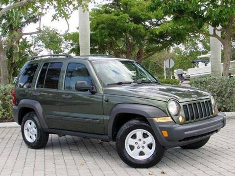 2007 Jeep Liberty for sale at Auto Quest USA INC in Fort Myers Beach FL