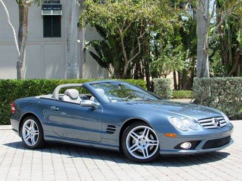 2007 Mercedes-Benz SL-Class for sale at Auto Quest USA INC in Fort Myers Beach FL