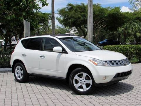 2005 Nissan Murano for sale at Auto Quest USA INC in Fort Myers Beach FL