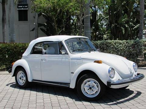 1979 Volkswagen Beetle Convertible for sale at Auto Quest USA INC in Fort Myers Beach FL