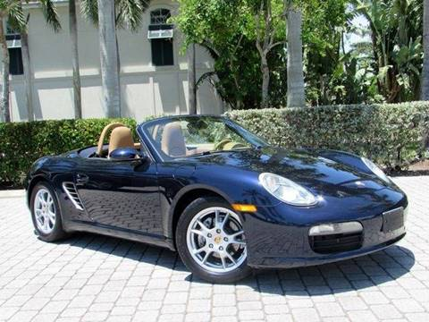 2007 Porsche Boxster for sale at Auto Quest USA INC in Fort Myers Beach FL