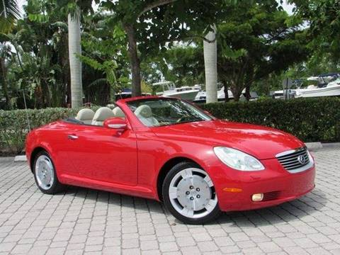 2005 Lexus SC 430 for sale at Auto Quest USA INC in Fort Myers Beach FL