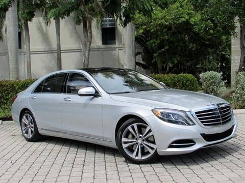 2016 Mercedes-Benz S-Class for sale at Auto Quest USA INC in Fort Myers Beach FL