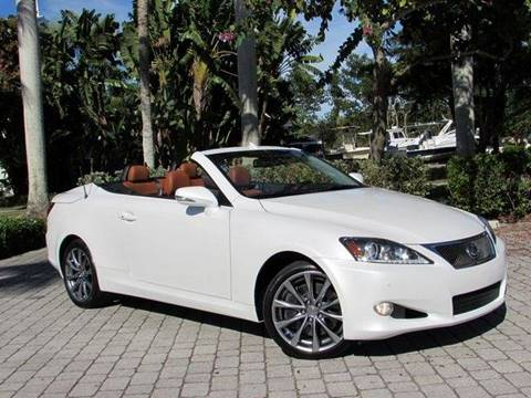2015 Lexus IS 350C for sale at Auto Quest USA INC in Fort Myers Beach FL
