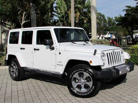 2018 Jeep Wrangler Unlimited for sale at Auto Quest USA INC in Fort Myers Beach FL