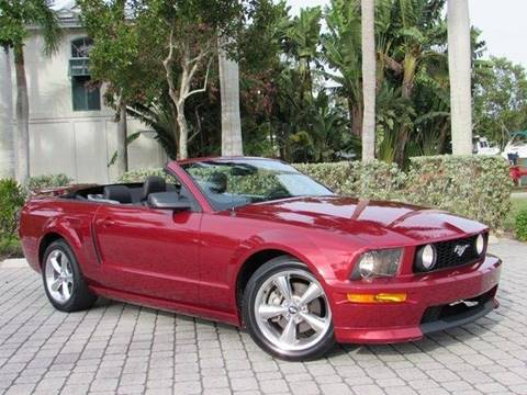 2007 Ford Mustang for sale at Auto Quest USA INC in Fort Myers Beach FL