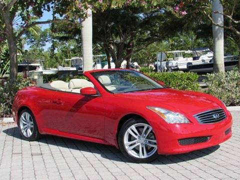 2010 Infiniti G37 Convertible for sale at Auto Quest USA INC in Fort Myers Beach FL