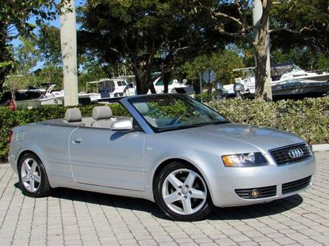 2004 Audi A4 for sale at Auto Quest USA INC in Fort Myers Beach FL