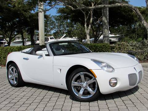 2008 Pontiac Solstice for sale at Auto Quest USA INC in Fort Myers Beach FL