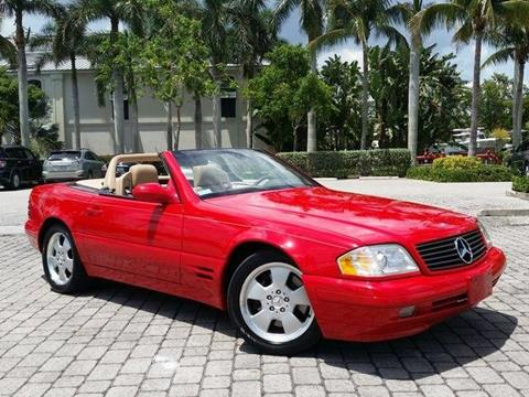 1999 Mercedes-Benz SL-Class for sale at Auto Quest USA INC in Fort Myers Beach FL