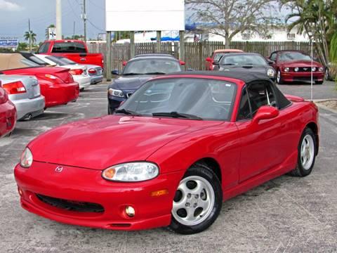 1999 Mazda MX-5 Miata for sale at Auto Quest USA INC in Fort Myers Beach FL