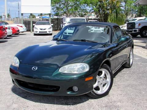 2001 Mazda MX-5 Miata for sale at Auto Quest USA INC in Fort Myers Beach FL