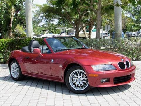 2001 BMW Z3 for sale at Auto Quest USA INC in Fort Myers Beach FL