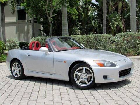 2002 Honda S2000 for sale at Auto Quest USA INC in Fort Myers Beach FL