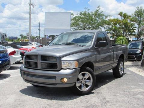 2005 Dodge Ram Pickup 1500 for sale at Auto Quest USA INC in Fort Myers Beach FL