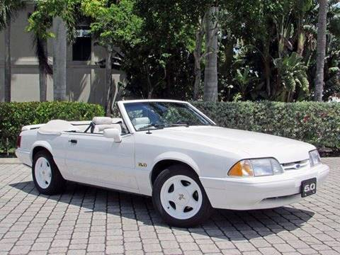 1993 Ford Mustang for sale at Auto Quest USA INC in Fort Myers Beach FL