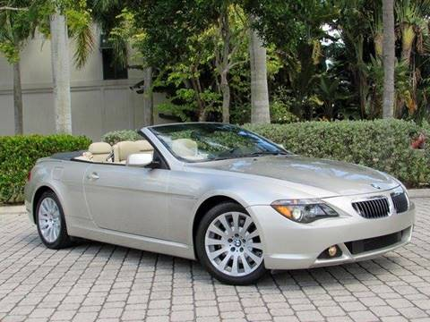 2004 BMW 6 Series for sale at Auto Quest USA INC in Fort Myers Beach FL