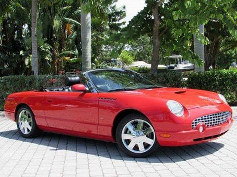 2003 Ford Thunderbird for sale at Auto Quest USA INC in Fort Myers Beach FL