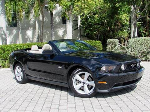 2011 Ford Mustang GT Premium for sale at Auto Quest USA INC in Fort Myers Beach FL