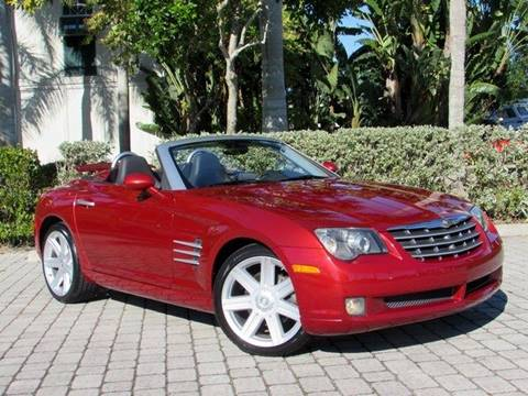 2005 Chrysler Crossfire Limited for sale at Auto Quest USA INC in Fort Myers Beach FL