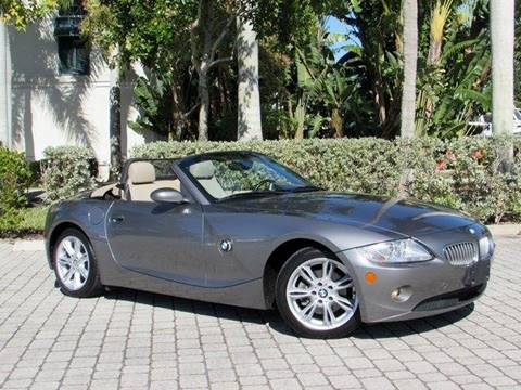 2005 BMW Z4 for sale at Auto Quest USA INC in Fort Myers Beach FL