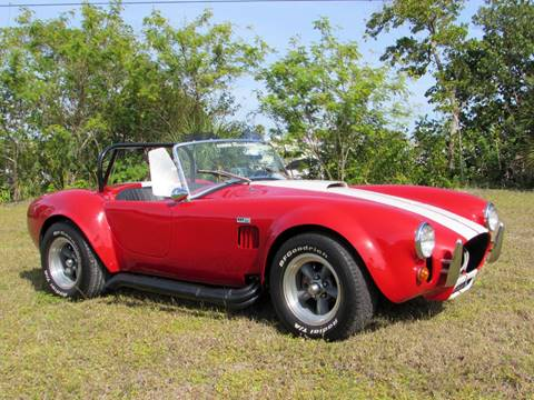 1965 Shelby Cobra for sale at Auto Quest USA INC in Fort Myers Beach FL
