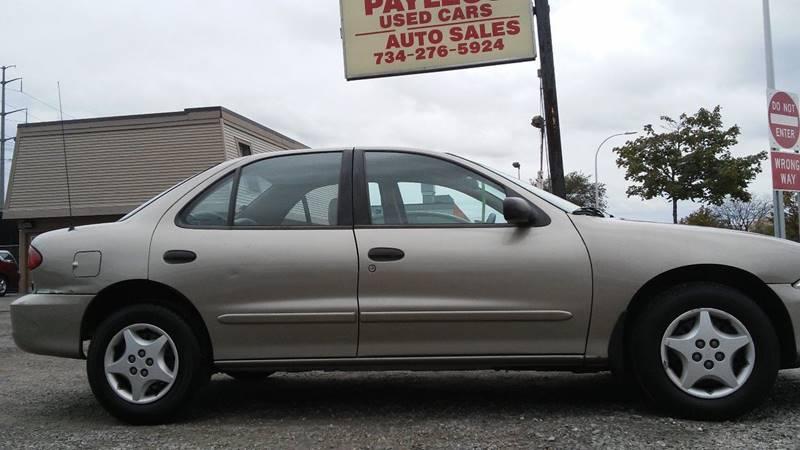 2000 Chevrolet Cavalier 4dr Sedan In Wayne Mi Payless Used Cars