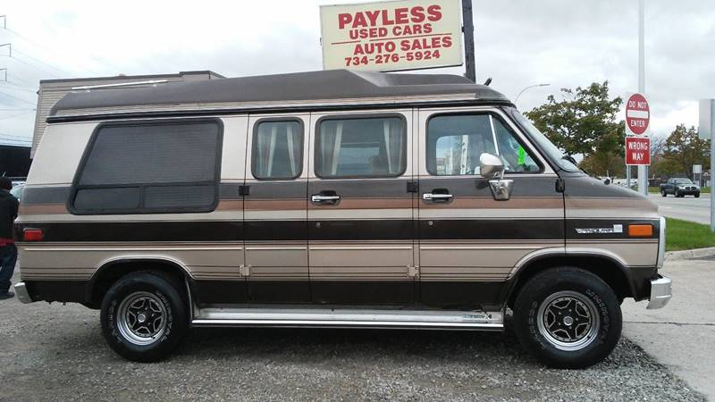 1987 Chevrolet R/V 2500 Series Conversion Van In Wayne MI - Payless