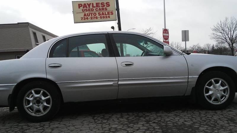 2001 Buick Park Avenue 4dr Sedan In Wayne Mi Payless Used Cars