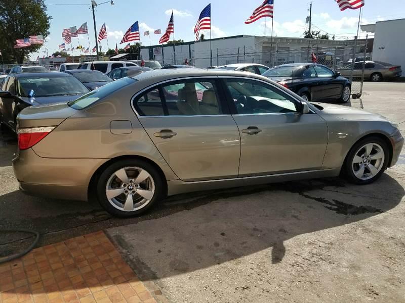 2008 BMW 5 Series 528i 4dr Sedan Luxury - Hollywood FL