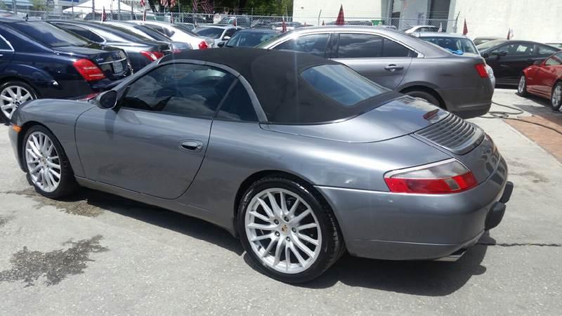 2001 Porsche 911 Carrera 2dr Cabriolet - Hollywood FL