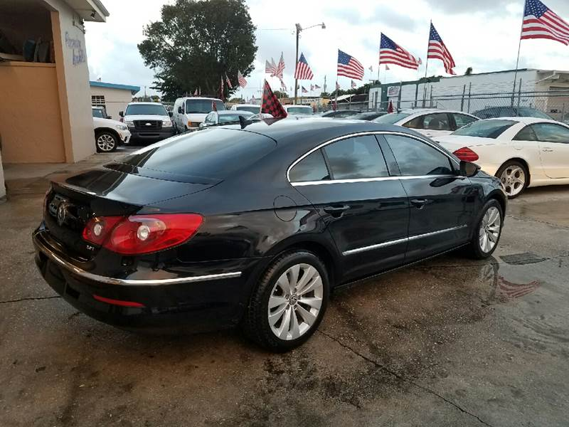 2012 Volkswagen CC Sport PZEV 4dr Sedan 6A - Hollywood FL