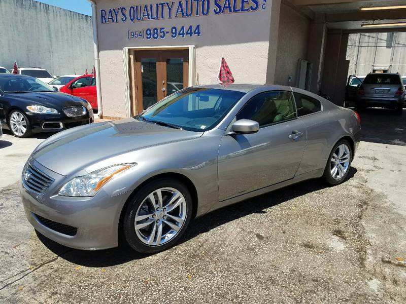 2009 Infiniti G37 Coupe 2dr Coupe - Hollywood FL