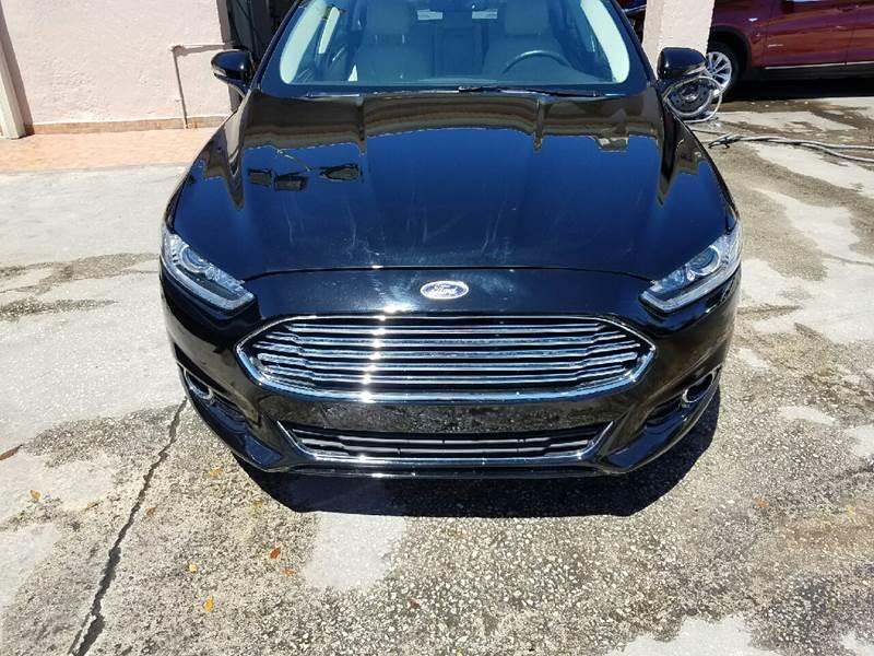 2016 Ford Fusion Titanium 4dr Sedan - Hollywood FL
