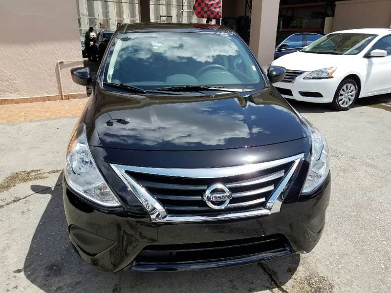 2017 Nissan Versa 1.6 SV 4dr Sedan - Hollywood FL