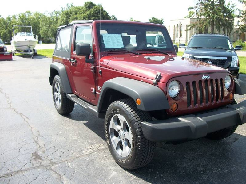 2008 Jeep Wrangler For Sale At USED CAR FACTORY In Janesville WI
