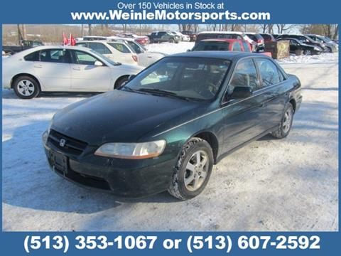 2000 Honda Accord for sale in Cleves, OH