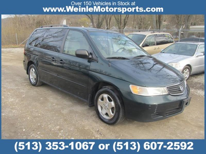 6a536a404d 2000 Honda Odyssey 4dr EX Mini-Van In Cleves OH - WEINLE MOTORSPORTS