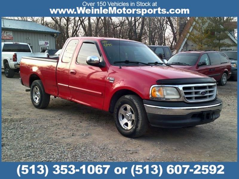 1999 ford f 150 xlt in cleves oh weinle motorsports. Black Bedroom Furniture Sets. Home Design Ideas
