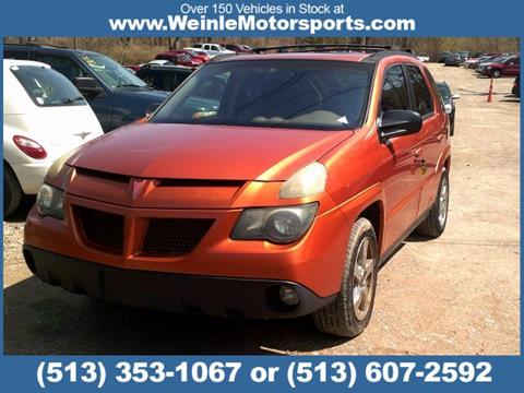 2004 Pontiac Aztek for sale in Cleves, OH