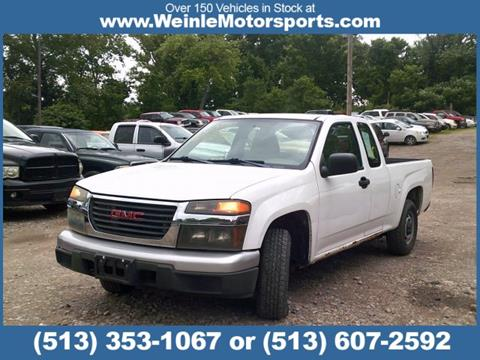 2005 GMC Canyon for sale in Cleves, OH